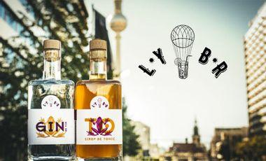 Project visual LYBR, Gin de vin + Sirop de Tonic : Le Gin-To revisité