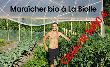 Visuel du projet Maraîcher bio à La Biolle