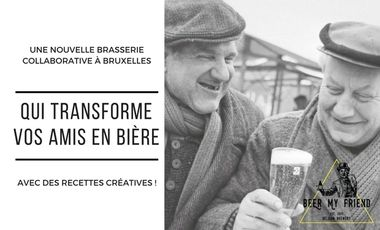 Project visual Brasserie Beer My Friend