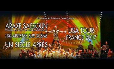 Project visual Un Siècle Après TOUR - FRANCE 2017