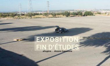 Project visual Exposición de final de curso // Exposition de fin d'études
