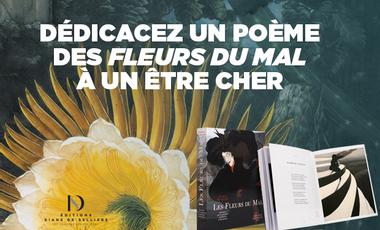 Visuel du projet Dédicacez un poème des Fleurs du Mal et soutenez la réimpression de notre livre