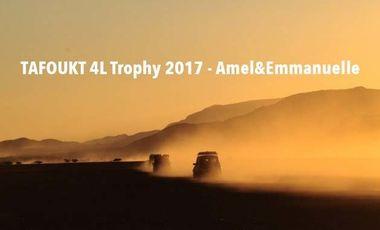 Visuel du projet TAFOUKT 4L Trophy 2017 - Amel&Emmanuelle