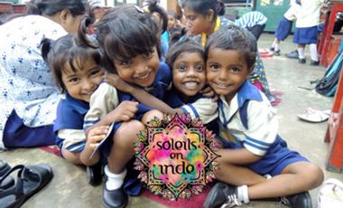 Project visual Soleils en Inde