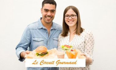 Project visual Le Circuit Gourmand