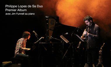 Project visual Philippe Lopes de Sa duo Jazz- Premier album