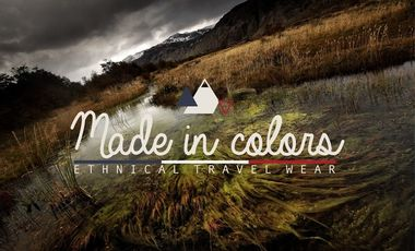 Project visual MADE IN COLORS : ethnical travel wear