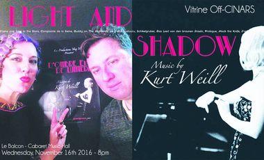 Visueel van project D'Ombre et de Lumière, Musique de Kurt Weill à l'Off-CINARS, une vitrine sur le monde !