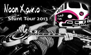 Visuel du projet Stunt Tour 2013 : tournée française de NOON XOXO