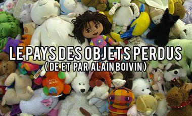 Project visual Le Pays des Objets perdus