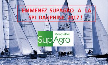 Visueel van project Emmenez Supagro à la 36ème édition de la Spi Dauphine !