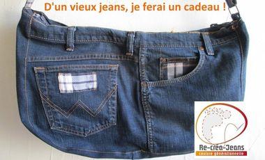 Project visual D'un vieux jeans, je ferai un cadeau !