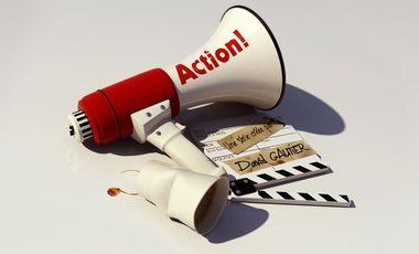 Visueel van project Action !