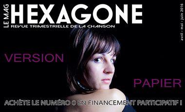 Project visual Hexagone, le mook - Impression du numéro 0