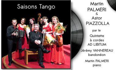 Visueel van project Premier enregistrement des Quatre Saisons de Martin PALMERI