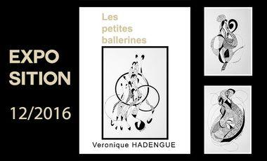 "Project visual EXPOSITION ""Les Petites Ballerines"" de VÉRONIQUE HADENGUE"