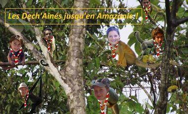 Project visual Des Scouts jusqu'en Amazonie!