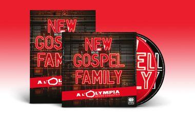 Project visual DVD / Double CD de New Gospel Family à l'Olympia