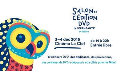 Visuel du projet Salon de l'Edition DVD Indépendante 2016