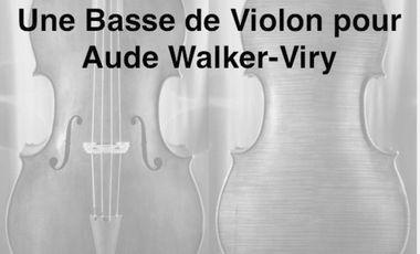 Project visual Une basse de violon pour Aude Walker-Viry