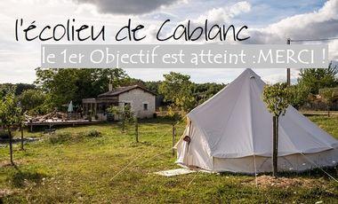 Visueel van project l'écolieu de Cablanc