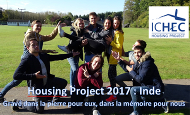 Project visual Housing project : Inde 2017