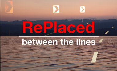 Project visual RePlaced: Between the lines