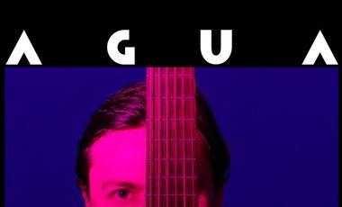 """Visueel van project Cristian Zarate """"AGUA""""  1er CD"""