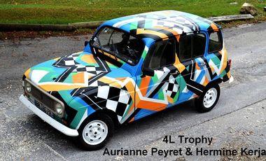 Visuel du projet 4L Trophy 2017 - Aurianne et Hermine