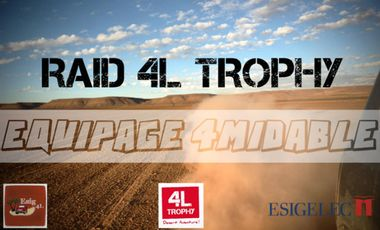 Project visual 4L Trophy - 4midable