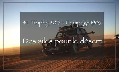 Visuel du projet 4L Trophy - Des Ailes Pour Le Désert