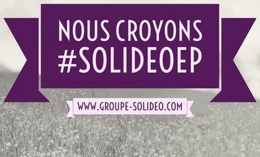 Visuel du projet Nous Croyons => nouvel EP Solideo