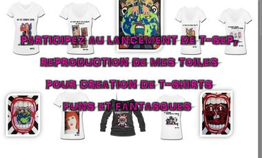 Project visual T-SEP Collection de T-shirt