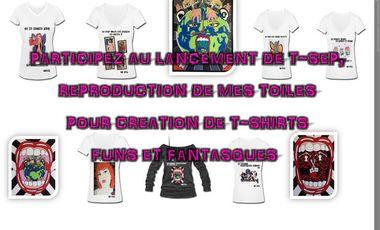 Visuel du projet T-SEP Collection de T-shirt