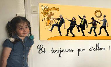 Visuel du projet Les Zélectrons Frits - Groupe de Rock pour Enfants - Premier Album