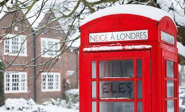 """Visuel du projet ELES - production Album """"Neige à Londres"""""""