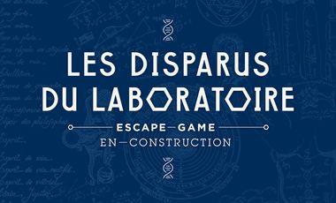 Project visual LES DISPARUS DU LABORATOIRE - Live escape game