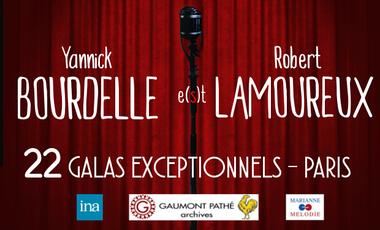 Project visual Yannick BOURDELLE e(s)t Robert LAMOUREUX à Paris !