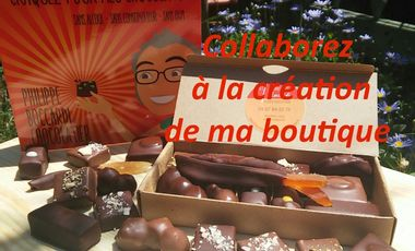 "Project visual La Boutique ""Les Chocolats Philippe Boccardi"""