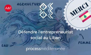 Project visual Défendre l'entrepreneuriat social au Liban