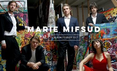 Project visual Marie Mifsud - Pressage 1er Album !!!