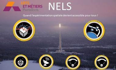 Visuel du projet NELS (Normalized European Launcher System), campus Arts et Métiers de Châlons-en-Champagne