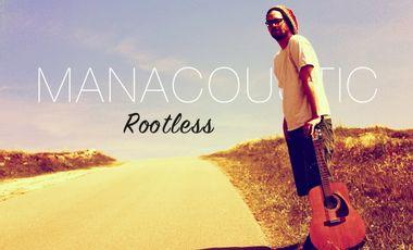 "Visueel van project MANACOUSTIC // Nouvel EP ""Rootless"""