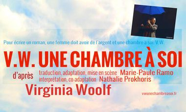 Project visual V.W. Une chambre à soi - Avignon Off 2013