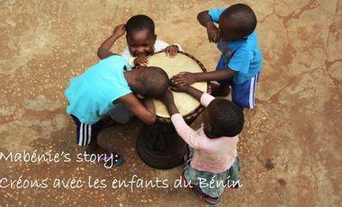 Visueel van project Mabénie's story: créons avec les enfants du Bénin