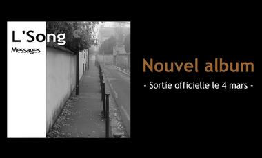 Visuel du projet Nouvel album de chansons de L'Song
