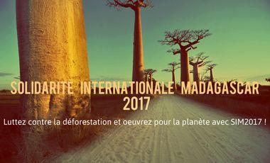 Visueel van project Solidarité Internationale Madagascar 2017, campus  Arts et Métiers de Bordeaux