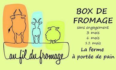 Project visual Box de fromages fermiers : Au fil du fromage