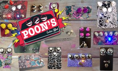 Project visual Poon's Guitar Effects : Des effets et du son !
