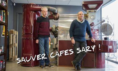 Project visual Sauvons Cafés Sary